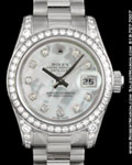 ROLEX 179159 DATEJUST MOTHER OF PEARL DIAMONDS 18K