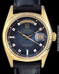 ROLEX 1803 DAY DATE PRESIDENT VIGNETTE DIAMONDS 18K