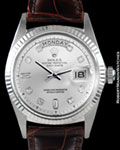 ROLEX 1803 DAY DATE PRESIDENT DIAMONDS 18K