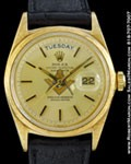 ROLEX 1806 DAY DATE PRESIDENT 18K MASONIC DIAL