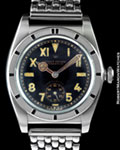 ROLEX 3372 OYSTER PERPETUAL BUBBLE BACK STEEL