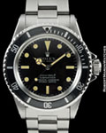 ROLEX VINTAGE SUBMARINER 5512 STEEL AUTO BOX PAPERS 1970