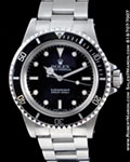 ROLEX VINTAGE SUBMARINER 5513 STAINLESS STEEL 1989