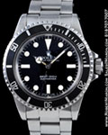 ROLEX VINTAGE SUBMARINER 5513 STAINLESS STEEL MAXI DIAL