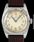 ROLEX 6015 OYSTER ROYAL BUBBLE BACK STEEL