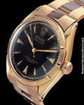 ROLEX 6101 OYSTER PERPETUAL 18K ROSE