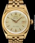 ROLEX 6105 DATEJUST 18K ROSE