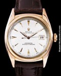 ROLEX 6105 OYSTER PERPETUAL 18K ROSE