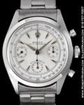 ROLEX VINTAGE CHRONOGRAPH 6234 STEEL MINT++ 1956