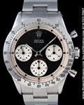 ROLEX VINTAGE COSMOGRAPH DAYTONA PAUL NEWMAN 6239 STAINLESS STEEL