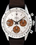 ROLEX 6262 DAYTONA CHRONOGRAPH TROPICAL STEEL