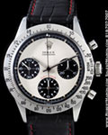 ROLEX VINTAGE DAYTONA 6262 CHRONOGRAPH  PAUL NEWMAN STAINLESS STEEL
