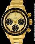 ROLEX VINTAGE 6263 DAYTONA PAUL NEWMAN CHRONOGRAPH 18K YELLOW GOLD