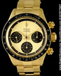 ROLEX VINTAGE 6263 PAUL NEWMAN DAYTONA 18K YELLOW GOLD