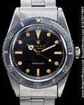 ROLEX SUBMARINER 6536-1 GILT DIAL STEEL