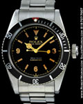 ROLEX SUBMARINER 6538 STEEL BIG CROWN