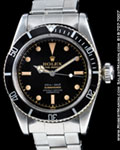 "ROLEX SUBMARINER ""BIG CROWN"" 6538 STEEL"