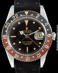 ROLEX 6542 GMT-MASTER GILT STEEL