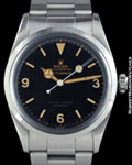 ROLEX 6610 EXPLORER I GILT STEEL
