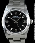 ROLEX OYSTER PERPETUAL MID SIZE 77080 AUTOMATIC STEEL