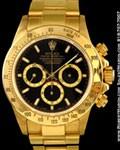 ROLEX VINTAGE DAYTONA EL PRIMERO 16528 18K YELLOW GOLD