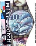 SWATCH MAXI MARK GM106 7FT WALL CLOCK