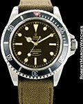 TUDOR VINTAGE SUBMARINER 7928 GILT DIAL AUTOMATIC TROPICAL 1959