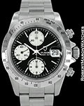 TUDOR PRINCE DATE AUTOMATIC CHRONOGRAPH STEEL 79280 2003