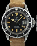 TUDOR 94110 SUBMARINER STEEL