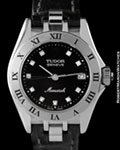 TUDOR 15860 MONARCH DIAMONDS STEEL