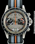 TUDOR VINTAGE MONTE CARLO CHRONOGRAPH 7149/0 STEEL BOX PAPERS 1976