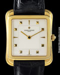 VACHERON CONSTANTIN STEPPED CASE 18K