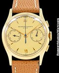 VACHERON CONSTANTIN VINTAGE 18K CHRONOGRAPH 1942 35MM UNPOLISHED MINT