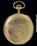 A.W.W.CO WALTHAM POCKET WATCH GOLD FILLED