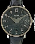 SVEND ANDERSEN KRONE LIMITED EDITION 18K WHITE GOLD ENAMEL DIAL