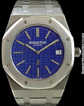 AUDEMARS PIGUET JUMBO ROYAL OAK JUBILEE 14802ST LIMITED EDITION STEEL w/ EXTRACT