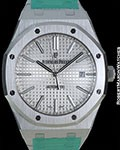 AUDEMARS PIGUET 15400ST ROYAL OAK 41MM STEEL AUTOMATIC NEW