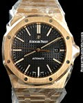 AUDEMARS PIGUET ROYAL OAK 15400OR 18K ROSE GOLD 41mm NEW