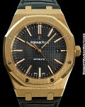 AUDEMARS PIGUET ROYAL OAK 15400OR 18K ROSE GOLD 41mm