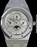 AUDEMARS PIGUET ROYAL OAK STEEL AUTOMATIC PERPETUAL CALENDAR 25654ST