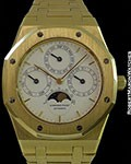 AUDEMARS PIGUET ROYAL OAK AUTOMATIC PERPETUAL CALENDAR 25654BA UNPOLISHED 18K