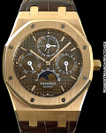 AUDEMARS PIGUET REF 26252 ROYAL OAK PERPETUAL CALENDAR 18K ROSE GOLD