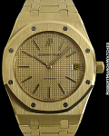 AUDEMARS PIGUET 5402 GOLD ROYAL OAK