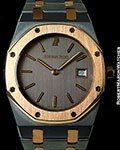 AUDEMARS PIGUET 56175 ROYAL OAK MIDSIZE QUARTZ TANTALUM & 18K ROSE GOLD