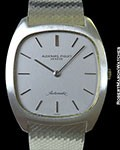 AUDEMARS PIGUET 18K WHITE GOLD ULTRA-THIN AUTOMATIC NEW OLD STOCK