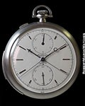 AUDEMARS PIGUET PLATINUM MINUTE REPEATER SPLIT SECONDS CHRONOGRAPH VINTAGE POCKET WATCH