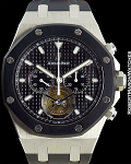 AP OFFSHORE RUBBER TOURBILLON CHRONO