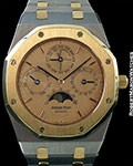 AUDERMARS PIGUET QUANTIEME PERPETUAL TANTALUM & 18K ROSE GOLD AUTOMATIC