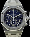 AUDEMARS PIGUET ROYAL OAK CHRONOGRAPH STEEL ref 26300ST