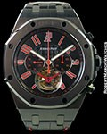 AUDEMARS PIGUET ROYAL OAK OFFSHORE LAS VEGAS STRIP TOURBILLON CHRONOGRAPH
